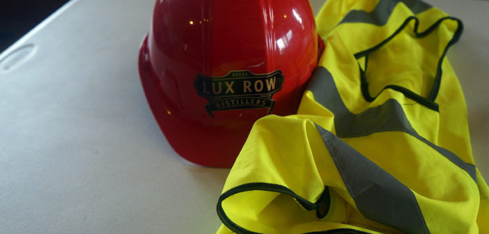 Lux Row Distillers is taking shape