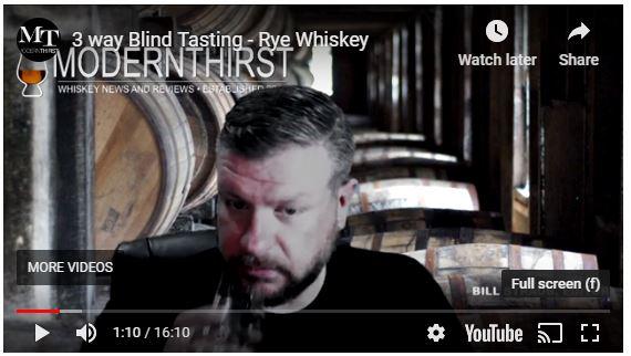VIDEO: 3-Way Rye Whiskey Blind Tasting