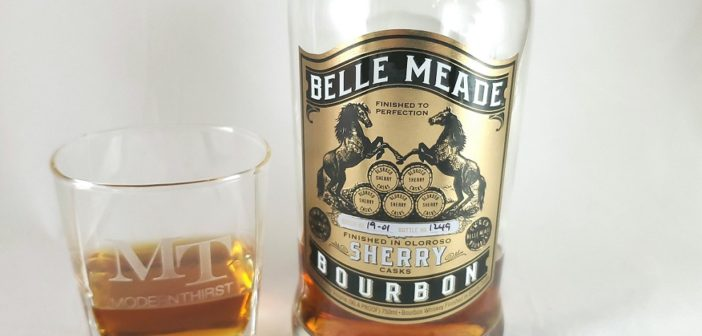 Review:  Belle Meade Sherry Cask Finished Bourbon