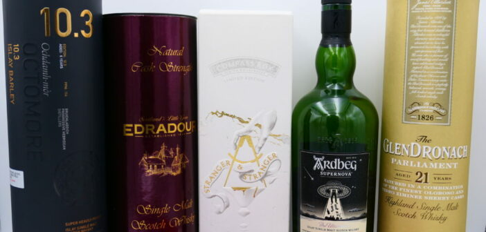 Top Tasted Whiskies in 2019 – #5 to #1