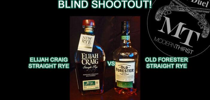 Video: Elijah Craig Rye vs. Old Forester Rye BLIND COMPARISON