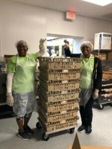 DermVA Volunteers with Feed More / Meals on Wheels