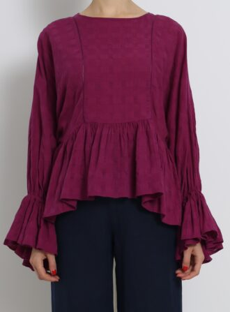 apiece apart shirred top