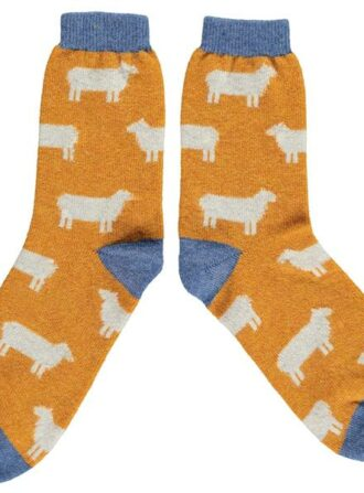 lambswool ankle socks