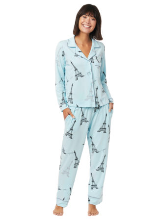 cats pjs eiffel tower