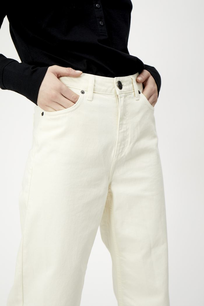 just female off white jeans