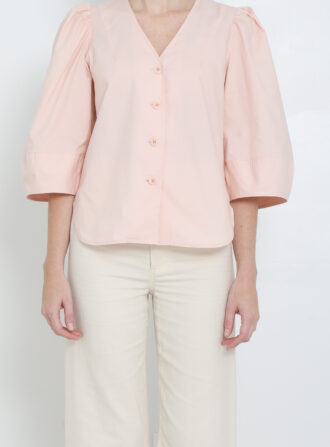 apiece apart pink top
