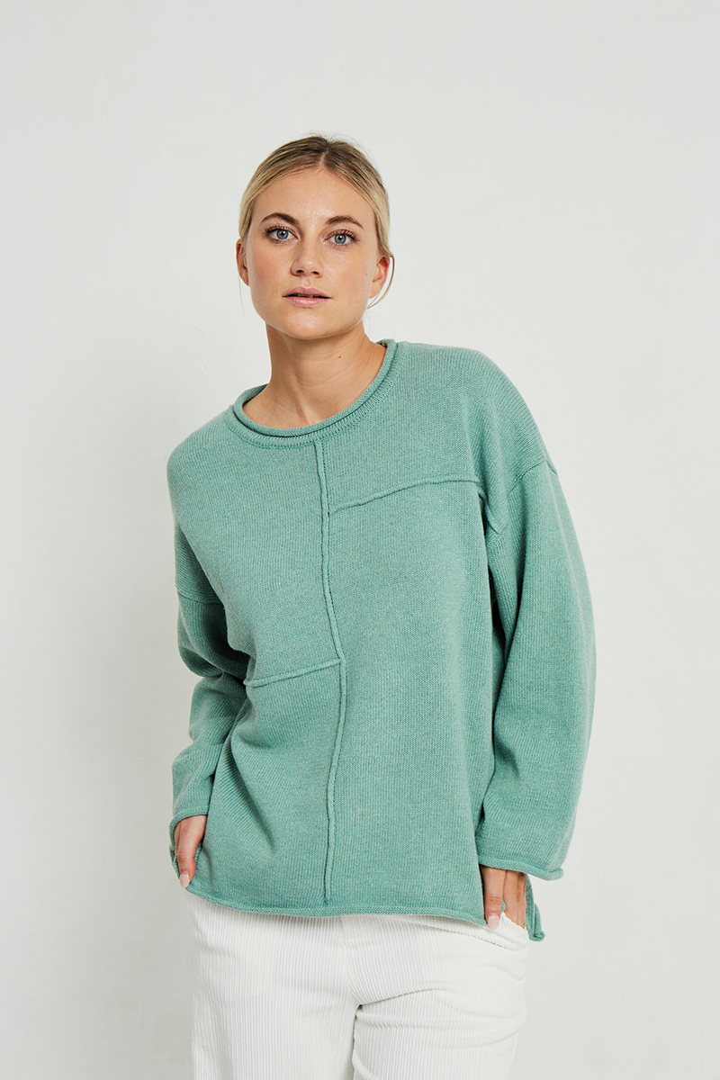 Mint Cotton Sweater