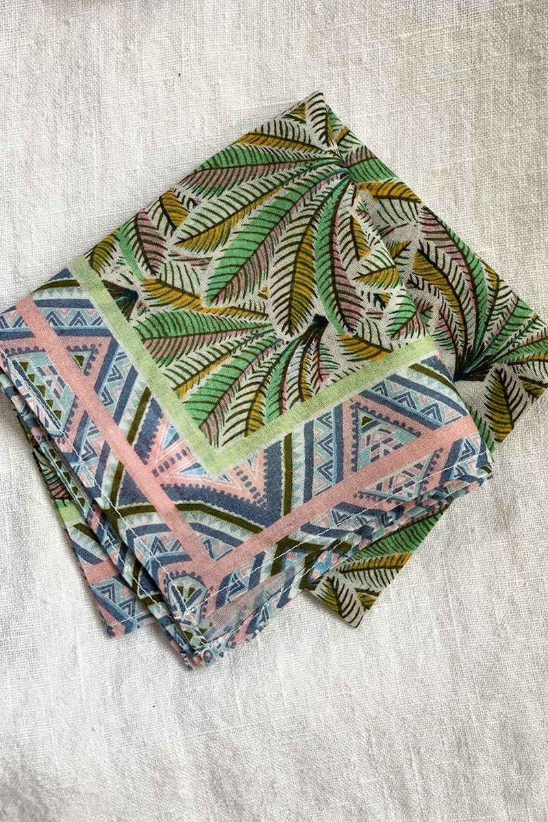 bandana palm folded