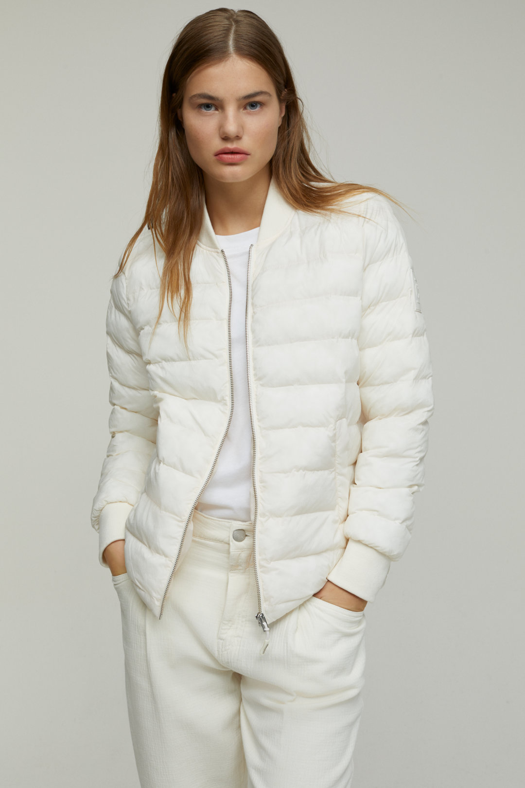 closed quilted jkt