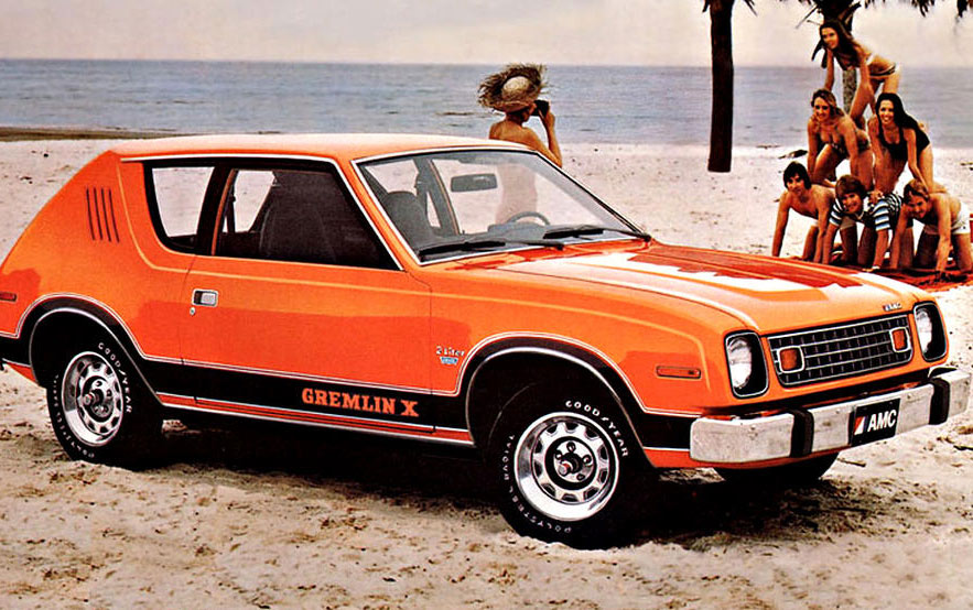 amc gremlin ad ugly car