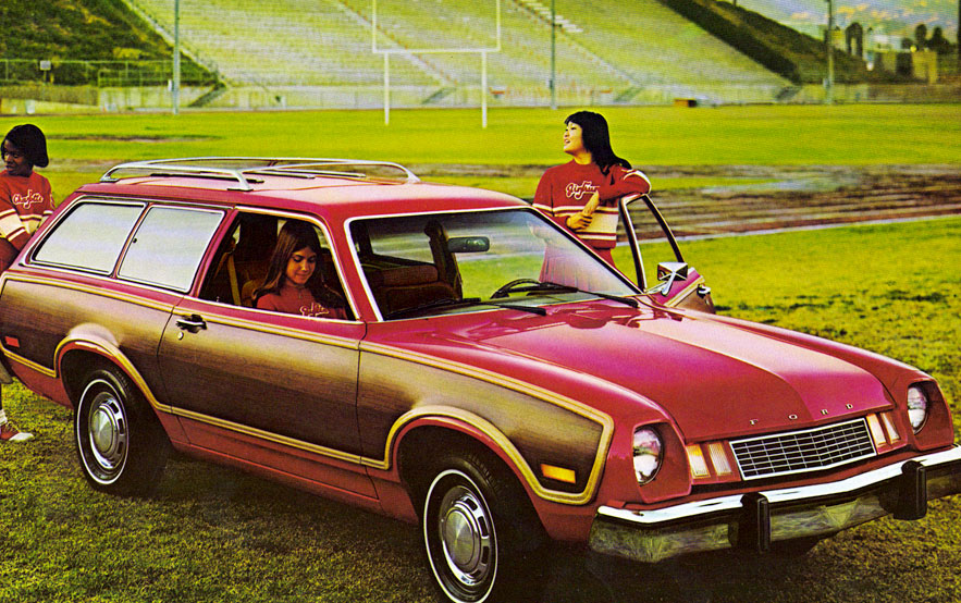 pinto cruising wagon ugly 70s car