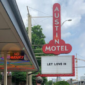 austin motel phallic sign review