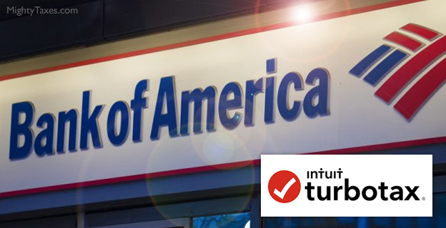 bank of america turbotax