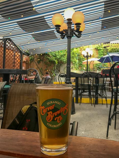 durango colorado carver brewing company