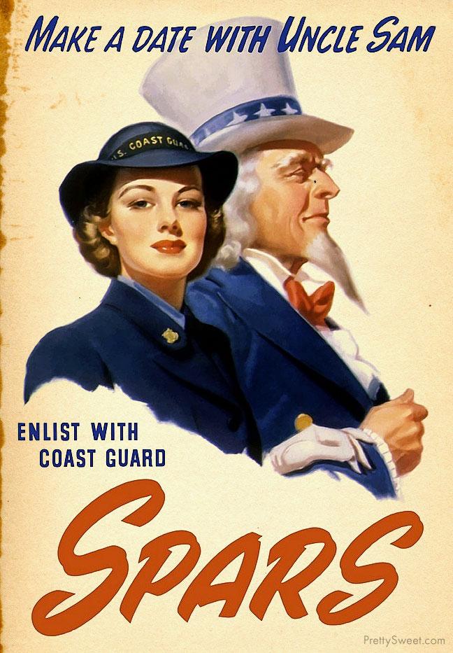 coast guard uncle sam poster propaganda