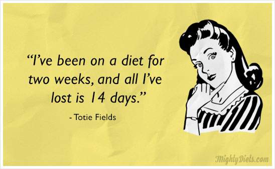 funny diet quote 2weeks
