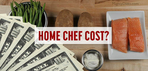 home chef cost