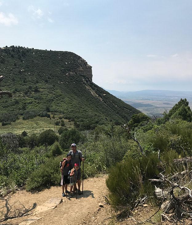 Hiking in Mesa Verde