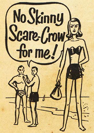 no skinny scarecrow girl