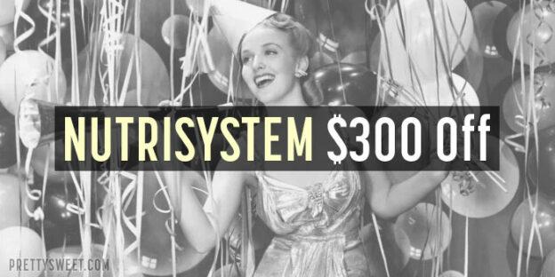 nutrisystem 300 off