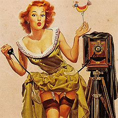 photography pin up