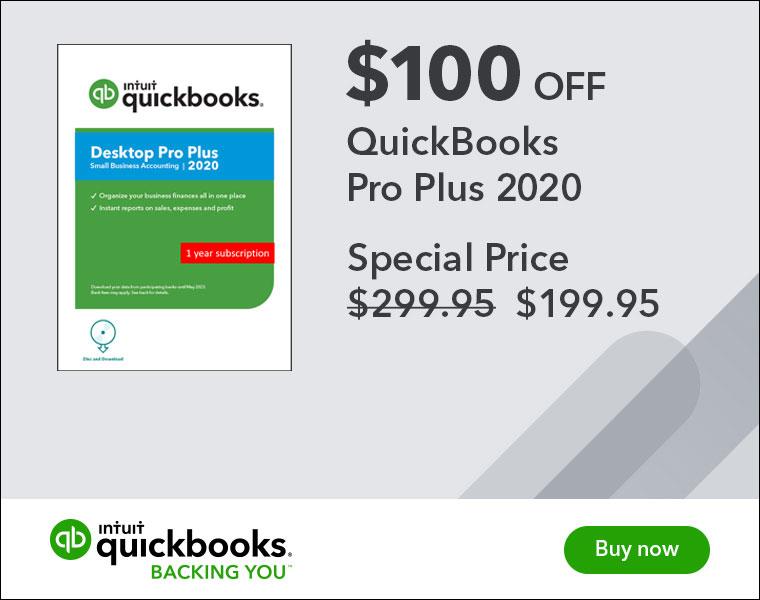 quickbooks pro coupon intuit