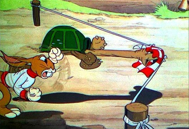 tortoise beats the hare