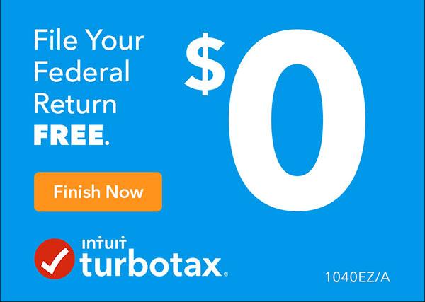 turbotax free federal