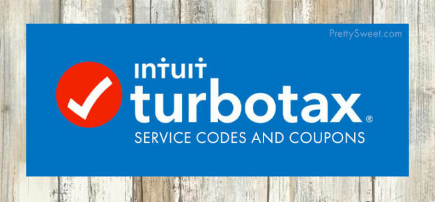 turbotax service codes