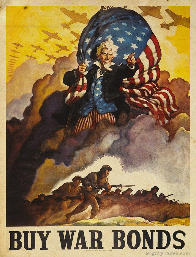 uncle sam poster buy war bonds