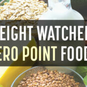 ww zero points foods
