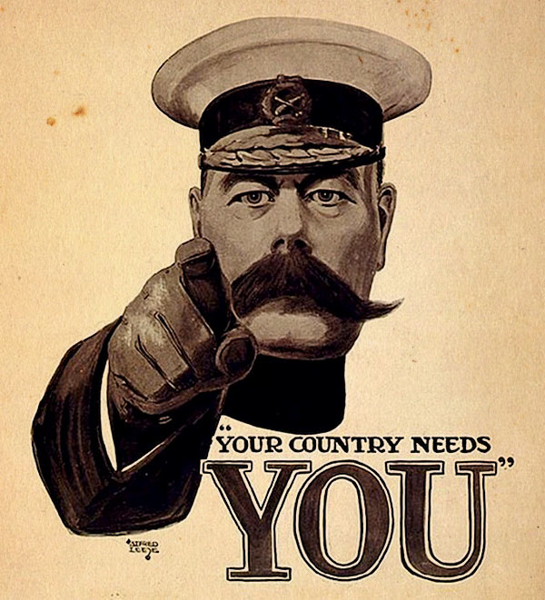your country needs you lord kitchener