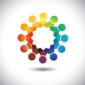 The Wheel Staff Organization Chart
