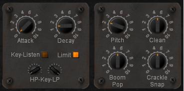 Snap Crackle Pop (& Boom) Drum Vitalizer VST