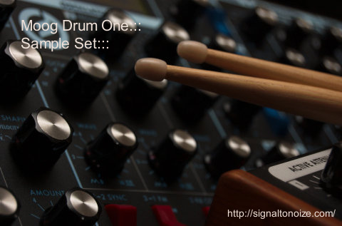 Moog Drum One – Samples & Live 8 Drum Rack