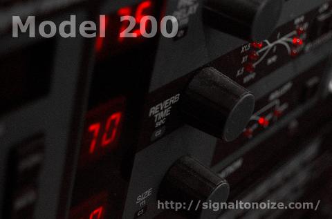 Lexicon M200 Impulse set.