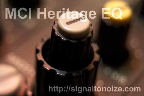 "MCI Heritage EQ ""I like it dirty"""