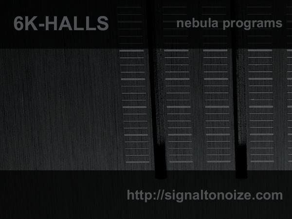 6k Halls – Nebula Reverb Programs