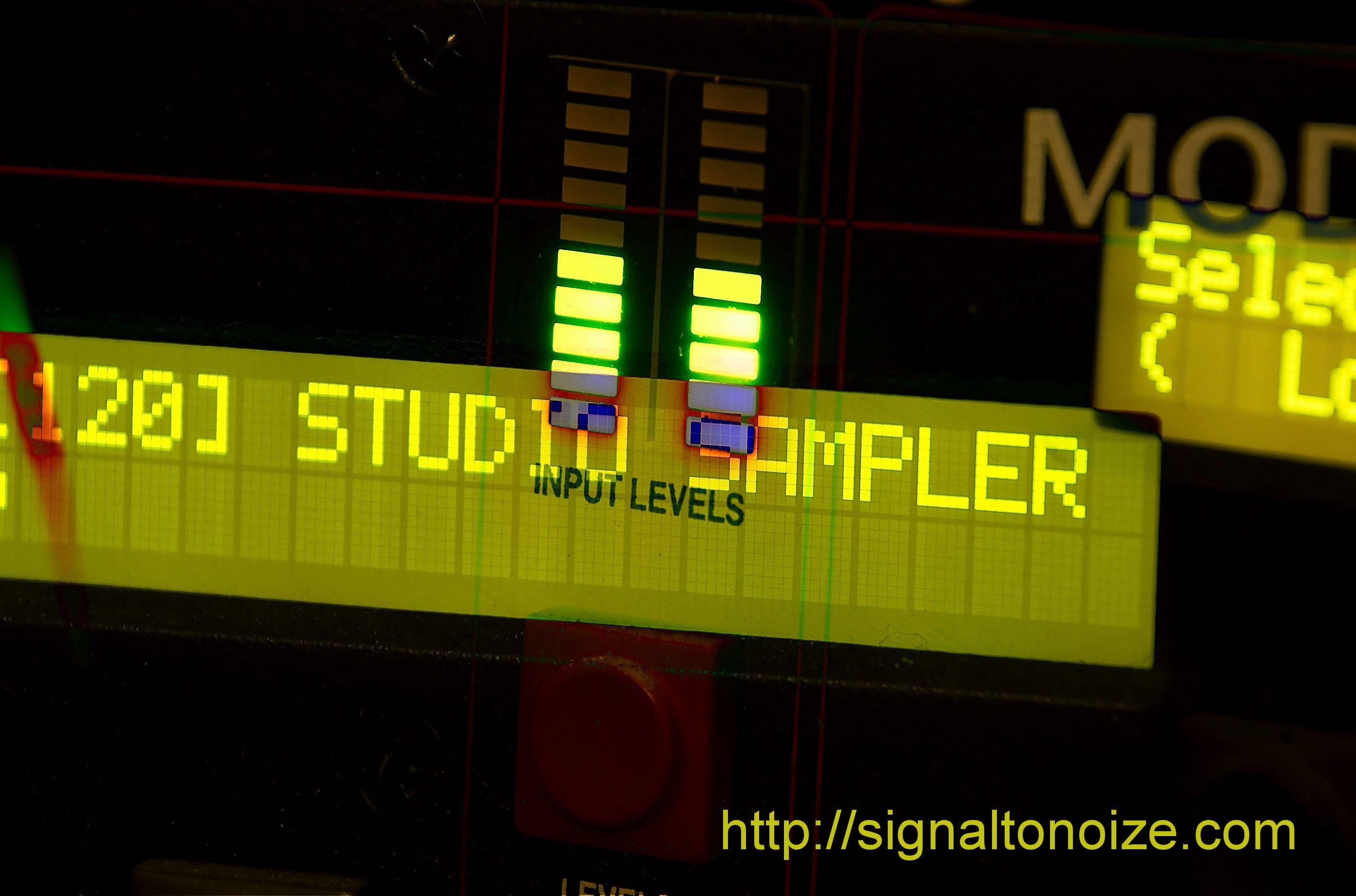 3500 Studio Sampler