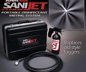 Introducing SaniJet: A duct sanitizing solution