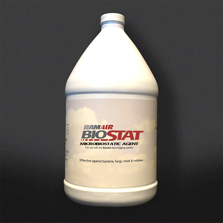 Product shot of RamAir BioStat Microbiostatic Agent