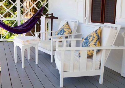 Porch and hammock