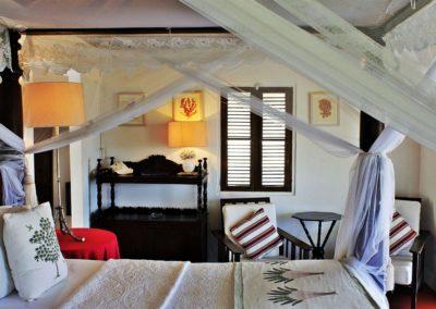 Balcony room interior