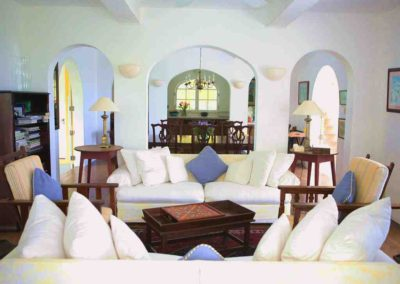 Villa sitting room