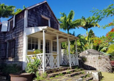 historic building on Nevis
