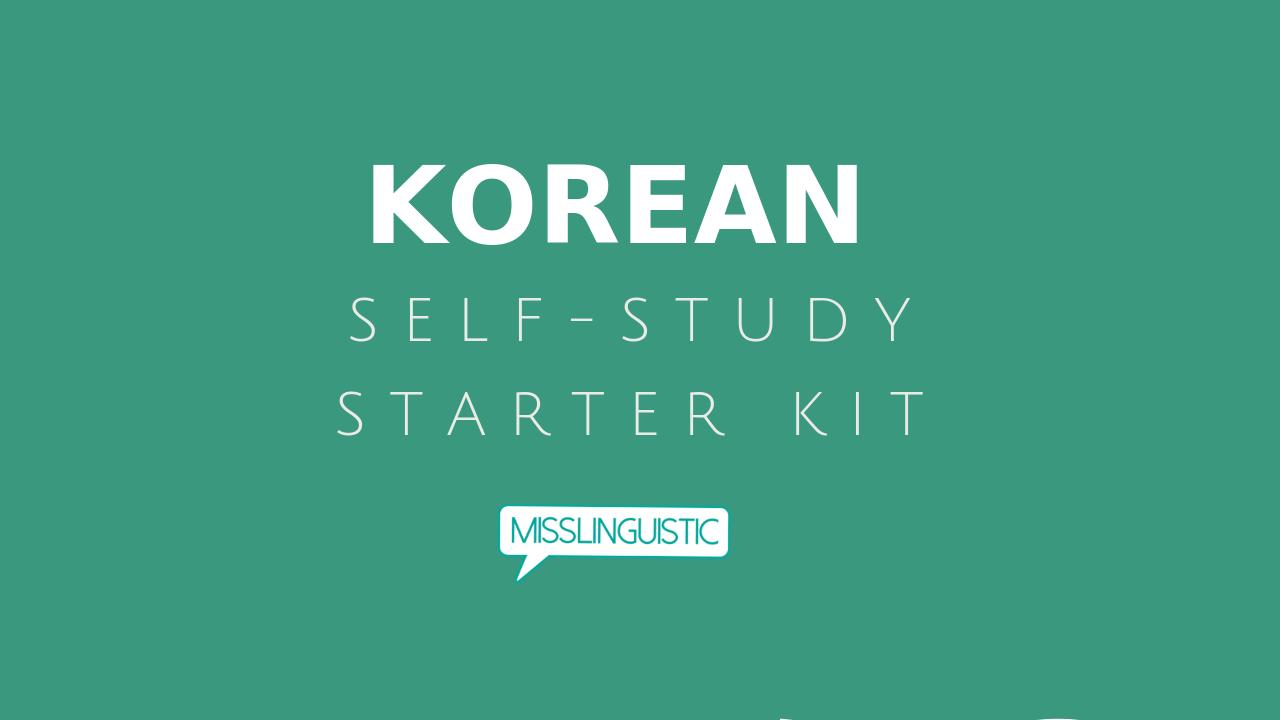 Study Korean Online