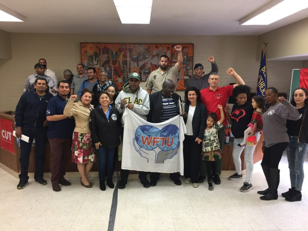 Organized WFTU conference in L.A.
