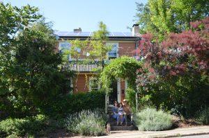 Residential solar energy pv system array Asheville