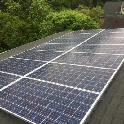 Residential solar panels installation Greenville South Carolina
